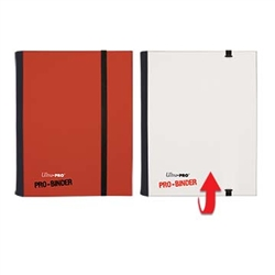 Ultra-Pro 4 Pocket Pro-Binder - Red/White