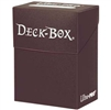 Ultra-Pro Solid Colour Deck Box - Brown