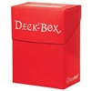 Ultra-Pro Solid Colour Deck Box - Red