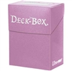 Ultra-Pro Solid Colour Deck Box - Pink