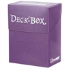 Ultra-Pro Solid Colour Deck Box - Purple