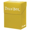 Ultra-Pro Solid Colour Deck Box - Bright Yellow