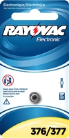 Rayovac -  376/377 - 1.5V - Silver Oxide Button Battery - 1-Pack