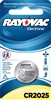 Rayovac -  CR2025 - 3.0V - Lithium Button Battery - 1-Pack