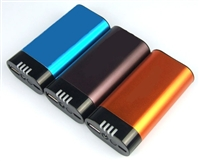 USB Power Bank - Hand Warmer - Flashlight - 5200mAh Rechargeable Li-Ion Battery - Aluminum Housing