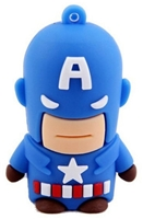 Superhero USB Flash Drives - 8GB - CAPTAINAMERICA