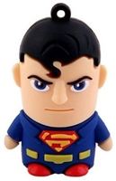 Superhero USB Flash Drives - 8GB - SUPERMAN