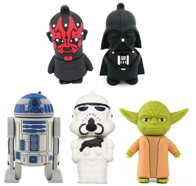 Star Wars USB Flash Drives - 8GB