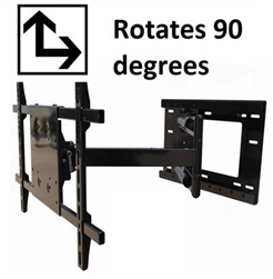 Portrait landscape Rotation TV mount