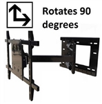 Portrait landscape Rotation TV wall mount - ASM-504M Rotate