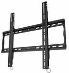 Low profile flat TV wall mount bracket 1.4 inch depth from wall with post installation leveling same dual stud mounting