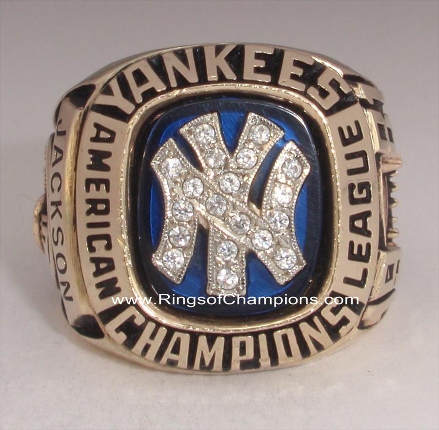 1981 NY Yankees World Series American League Champions 10K Gold