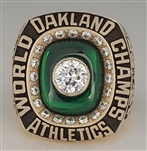 1989 Oakland A's World Series Champions 10K Gold Proto-Type Ring