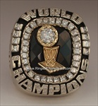 2006 Miami Heat N.B.A. World Champions 14K Gold & Diamond *Real* Ring in the Original Wood Presentation Box!  {{ Rare Player's Version }}