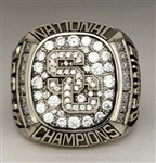 "2004 USC Trojans Football ""National Champions"" 10K Gold Ring!"
