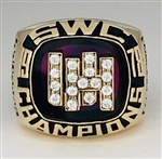 "1978 Houston Cougars ""SWC"" Champions 10K Gold Ring!"