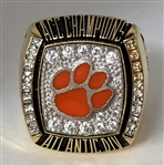 "2009 Clemson Tigers ""ACC"" Champions Player's Ring"