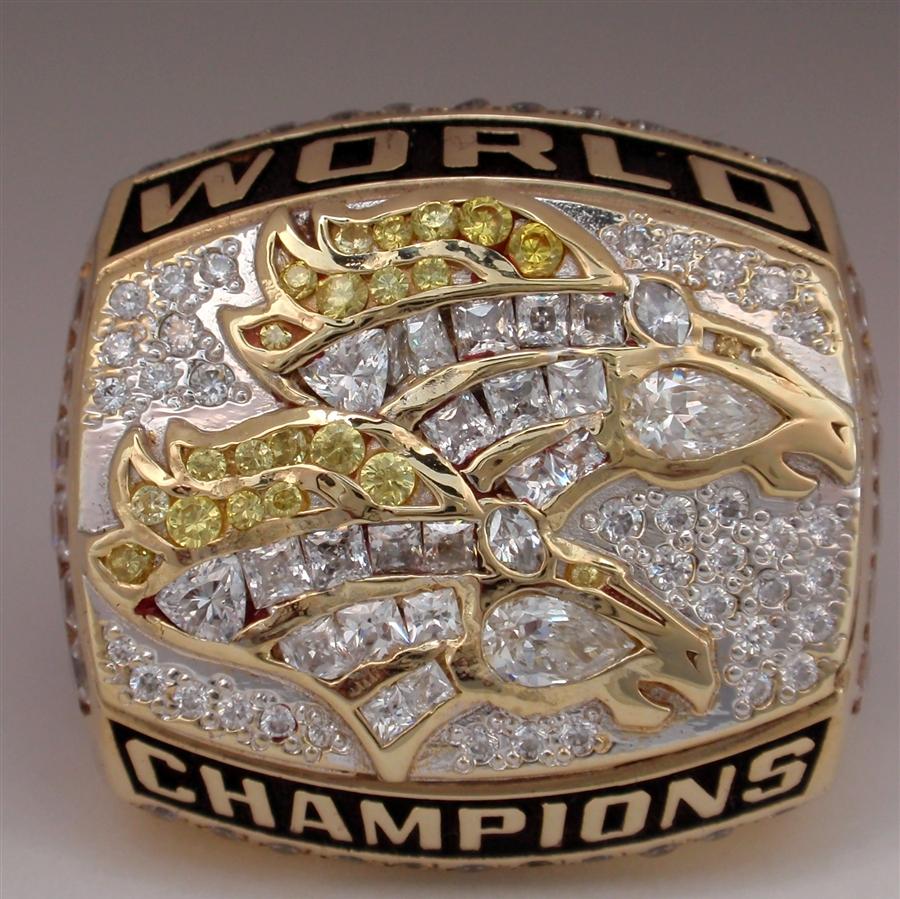 1998 Denver Broncos Super Bowl XXXIII Champions 10K Gold