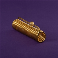 Lost Cubit Light-Life Acu-Vac Coil, copper, 24K gold plated, wire outside