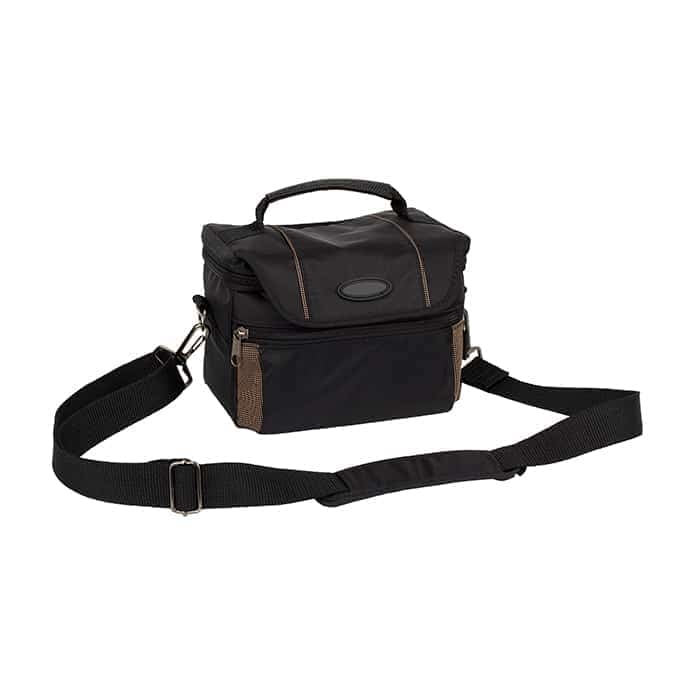 Black/Brown Camera Bag