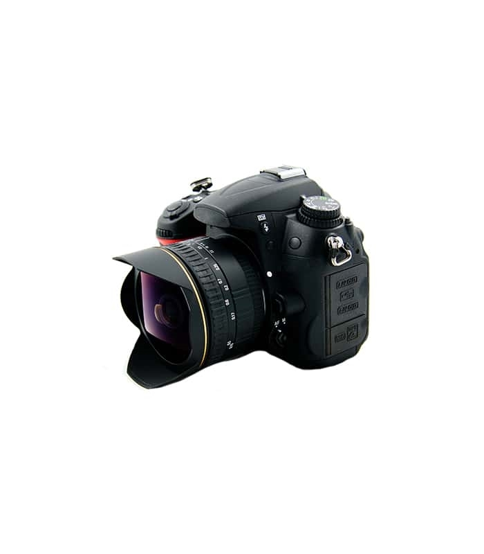 SLR Camera with Wide Lense