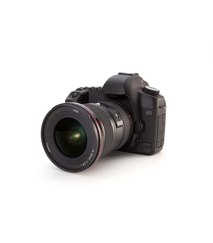 EOS Camera with 65mm Long Lense