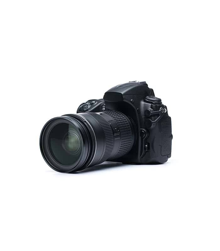 DSLR Camera with 75mm Long Lense