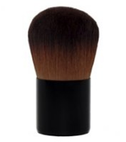 Synthetic Hair Brushes Brown Silk Kabuki