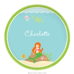 Mermaid Melamine Plate