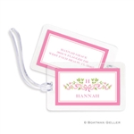 Ribbon Pink Bag Tag