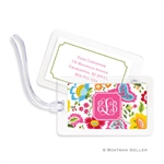Bright Floral Bag Tag
