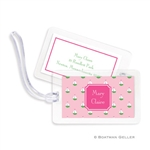 Little Sailboat Pink Bag Tag
