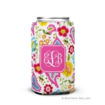 Bright Floral Can Koozie