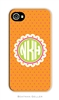Lucy Orange Cell Phone Cover