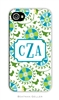 Suzani Teal Cell Phone Cover