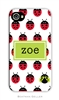 Ladybugs Repeat Cell Phone Cover