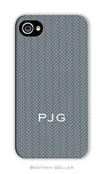 Herringbone Gray Cell Phone Cover