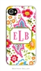 Bright Floral Cell Phone Cover