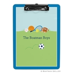 Sports Boy Clipboard