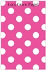 Shocking Pink + White Dot Notepad