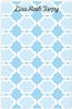Blue Pattern Notepad