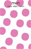 Bright Pink Large Dot Notepad