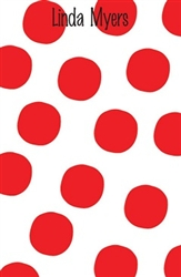 Red Large Dot Notepad
