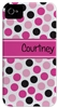 Pink Dots Phone Cover