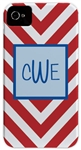 Red Chevron Phone Cover