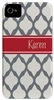 Grey Lattice Phone Cover