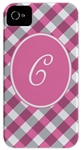 Pink Gingham Phone Cover