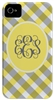 Yellow Gingham Phone Cover