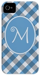Blue Gingham Phone Cover