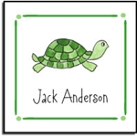Tiny Turtles Label